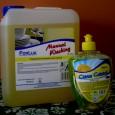 Zastosowanie: Preparat Forlux NC 508 przeznaczony jest do codziennego ręcznego mycia wszelkich naczyń kuchennych oraz sztućców. Doskonale sprawdza się również do mycia różnego rodzaju pojemników, przyrządów oraz urządzeń w masarniach,...